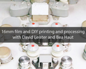 introduction to 16mm film and DIY printing and processing